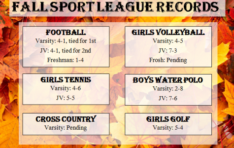 Fall Sports League Records