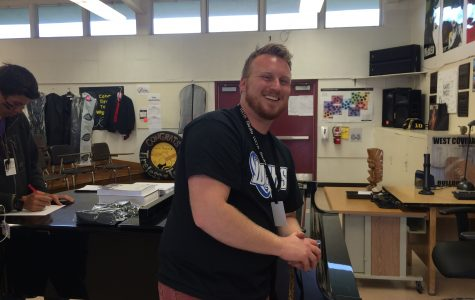 Fine Arts Department Teacher of the Year: Tyler Wigglesworth