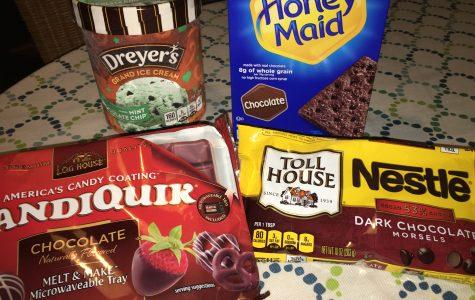 Recipe: Mint Ice Cream Cookie Cups