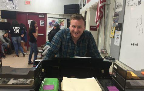 2015-2016 Teacher of the Year: Tyler Wigglesworth