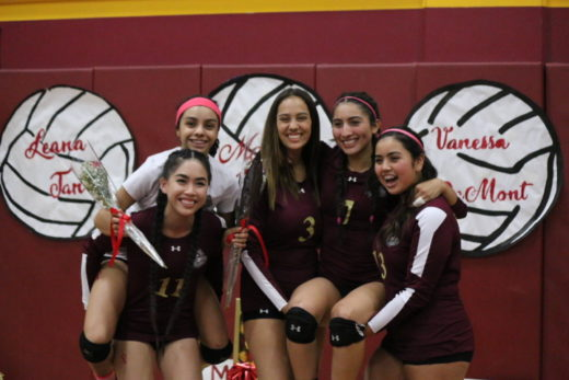 Photo Gallery: Girls Volleyball Senior Night