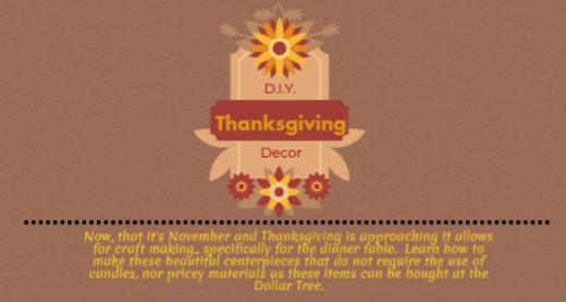 D.I.Y.+Thanksgiving+Decor