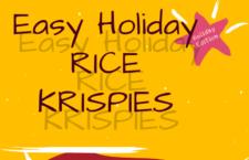 Holiday Rice Krispies Treats
