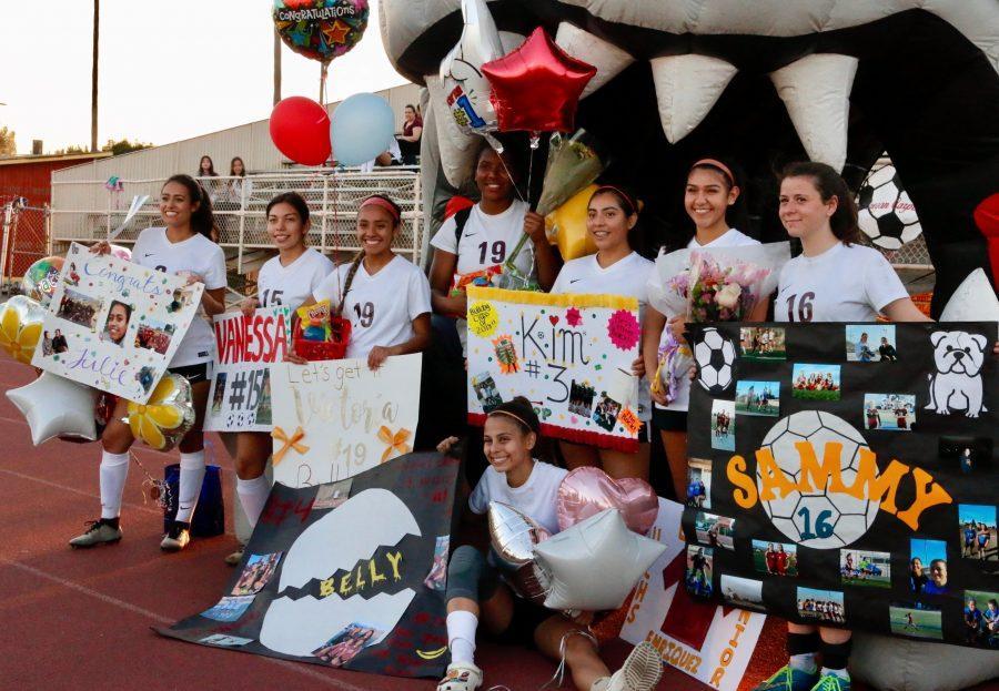 Photo Gallery: Girls Soccer Senior Night