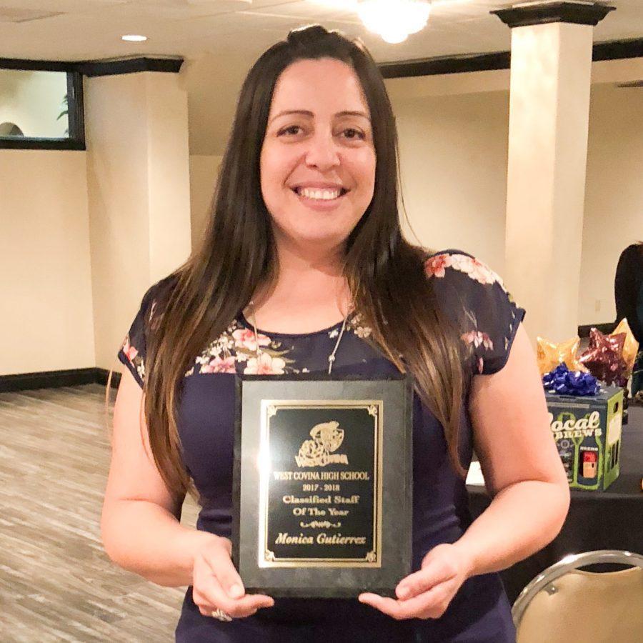 Classified Staff of the Year 2018: Monica Gutierrez