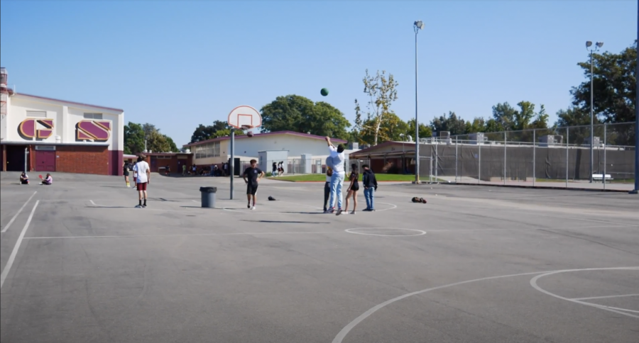 Screenshot from an 8th grade rally video. Photo credits to Bulldog News Network and ASB.